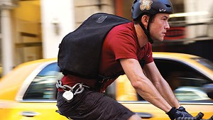 BIKE PATH Gordon-Levitt plays a Columbia dropout who chooses life as a bicycle messenger over the law.