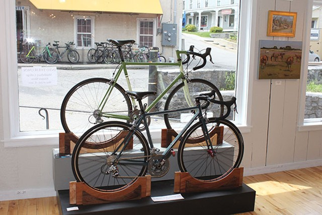 Bikes by Hubert d'Autremont