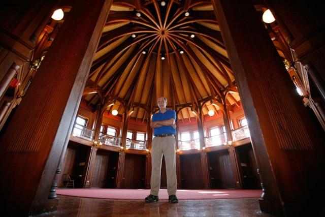 Bill Averyt at Billings Student Center - JORDAN SILVERMAN
