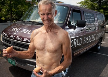 Working It Out With 'World Exercise Champion' Bill Kathan