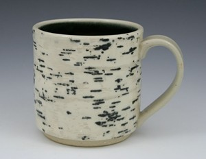 "COURTESY OF BURLINGTON CITY ARTS - ""Birch Mug"" by Christopher Vaughn"