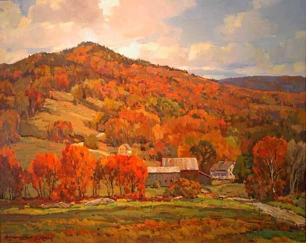 """Black Mountain"" by Stapleton Kearns"