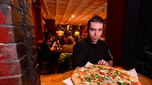 Blue Stone Pizza Shop and Tavern co-owner Chris Fish