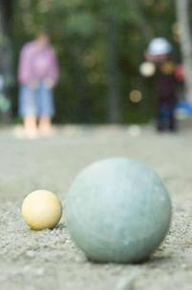 Bocce Ball - MATTHEW THORSEN