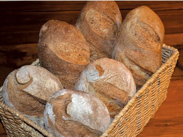 Bread from Backdoor Bakery - COURTESY OF DEAN MIENKE