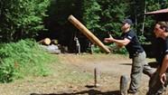 At a School for Lumberjacks, Boys Become Woodsmen