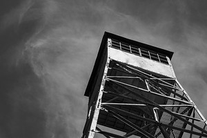 """COURTESY OF ART'S ALIVE - """"Brush Fire Tower"""" by Melissa Thebarge"""