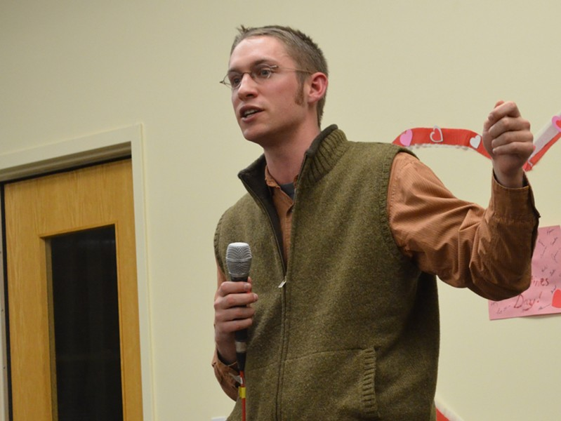 Burlington Councilor Max Tracy - ALICIA FREESE