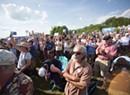 Crowds Flock to Bernie Sanders' Presidential Launch