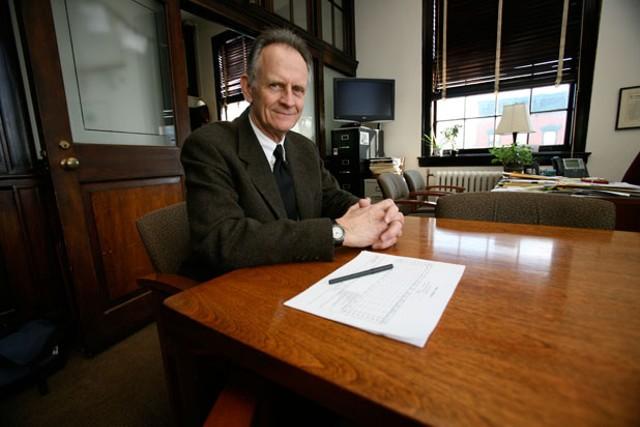 Burlington Mayor Bob Kiss - JORDAN SILVERMAN