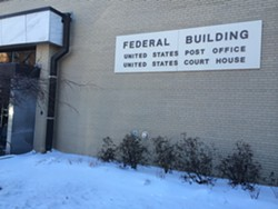 Federal court in Burlington - MARK DAVIS