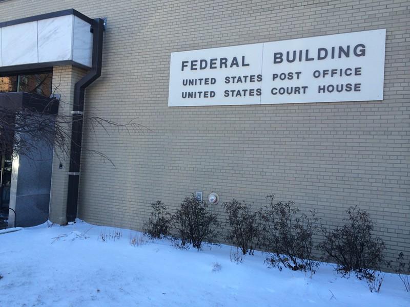 Federal court in Burlington - MARK DAVIS