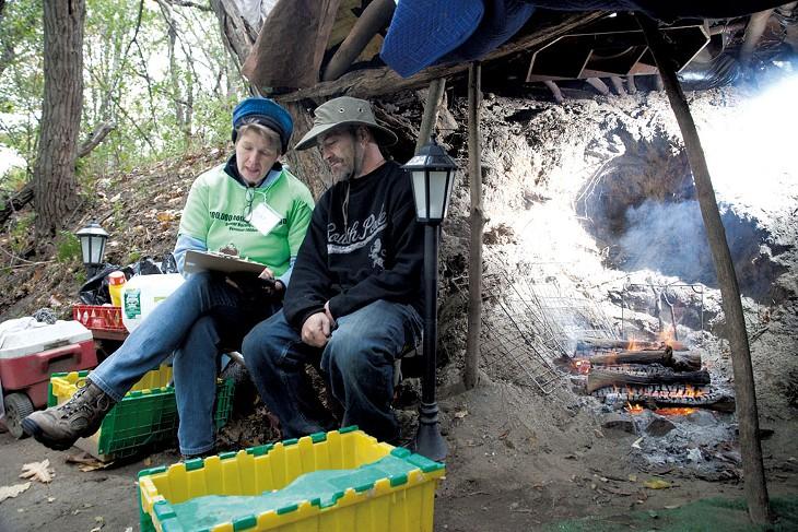 Burlington's Homeless