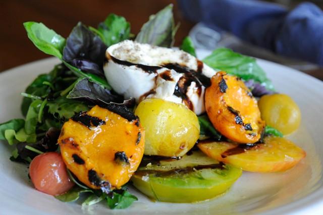 Burrata salad - JEB WALLACE-BRODEUR
