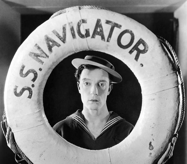 Buster Keaton in The Navigator