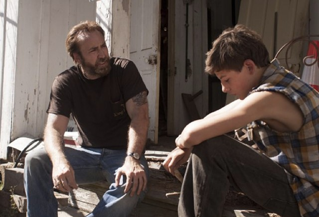 cage caged: The actor delivers an uncharacteristically subdued but still compelling performance in Green's Southern gothic.