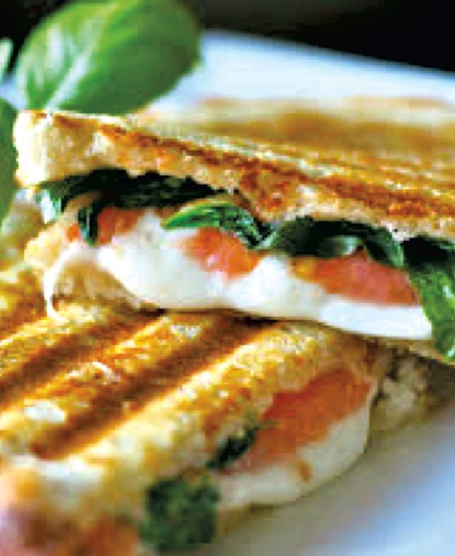 Caprese sandwich from Little Red Kitchen