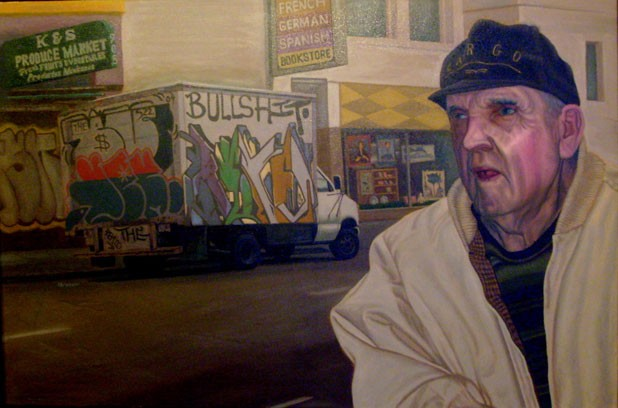 """Captain of Tenderloin, Tenderloin District, San Francisco"" by Isaac Graham"