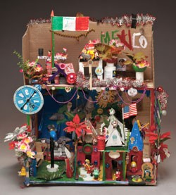 """Cardboard Houses"" by Eli"