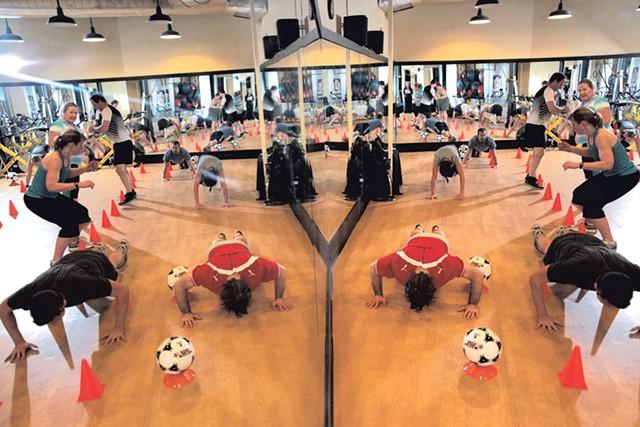 Cardio Sport class at OnTrack - MATTHEW THORSEN