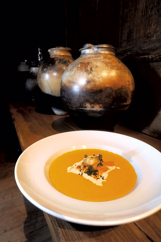 Carrot-ginger soup - JEB WALLACE-BRODEUR