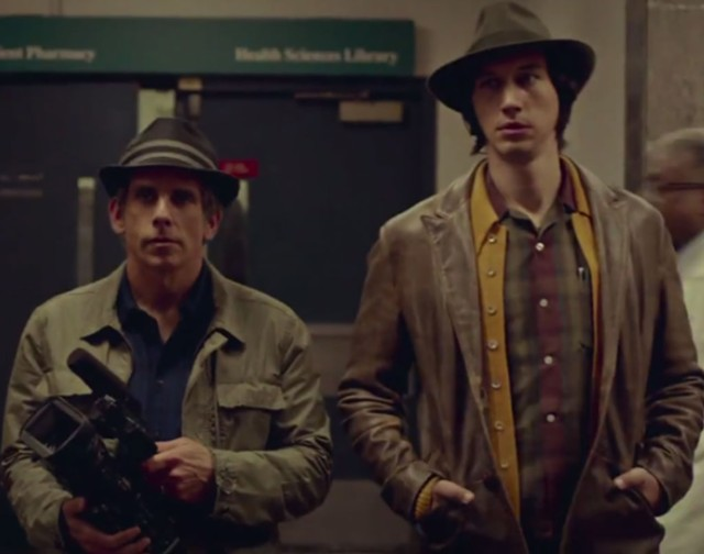 CATS IN THEIR HATS: Baumbach's latest is filled to the brim with insights into the creative process.