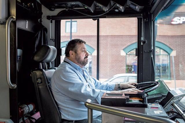 CCTA driver Paul LeClair - OLIVER PARINI