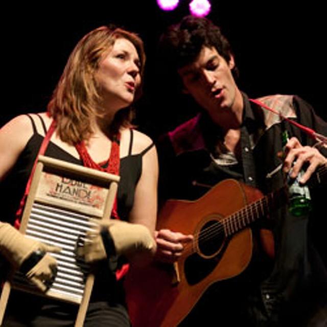 Celia Woodsmith and Avi Salloway