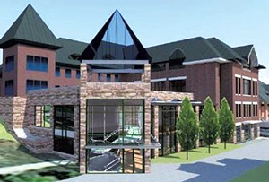 Champlain College Center for Communications and Creative Media, plans