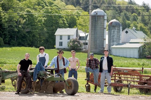 Chandler Center's Farm Boys cast