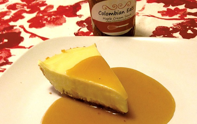 Cheesecake from Colombian Eats - COURTESY OF COLOMBIAN EATS