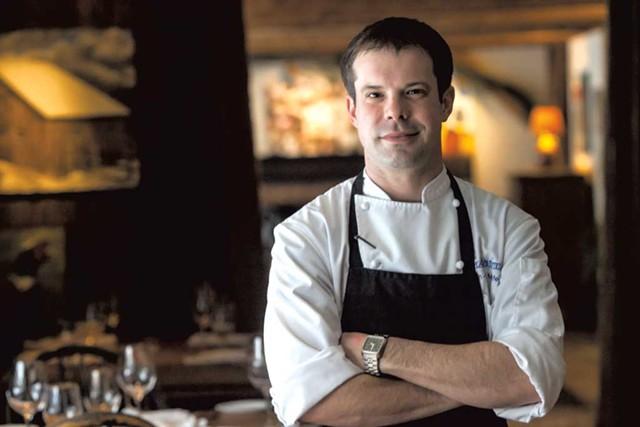 Chef Jean-Luc Matecat