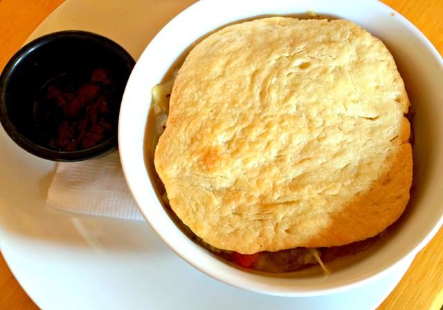 Chicken pot pie, $11 - ALICE LEVITT