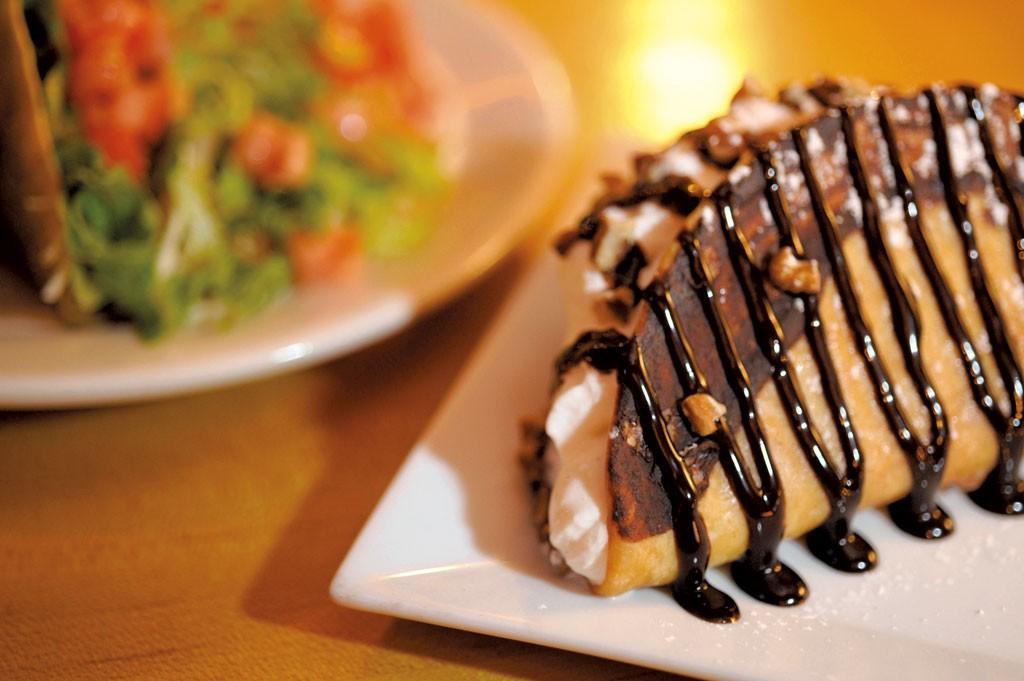 Choco Taco at Zach's Tavern - JEB WALLACE-BRODEUR