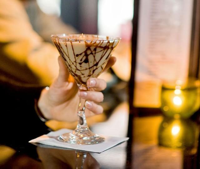 Chocolate Martini at Bangkok Bistro - ANDY DUBACK