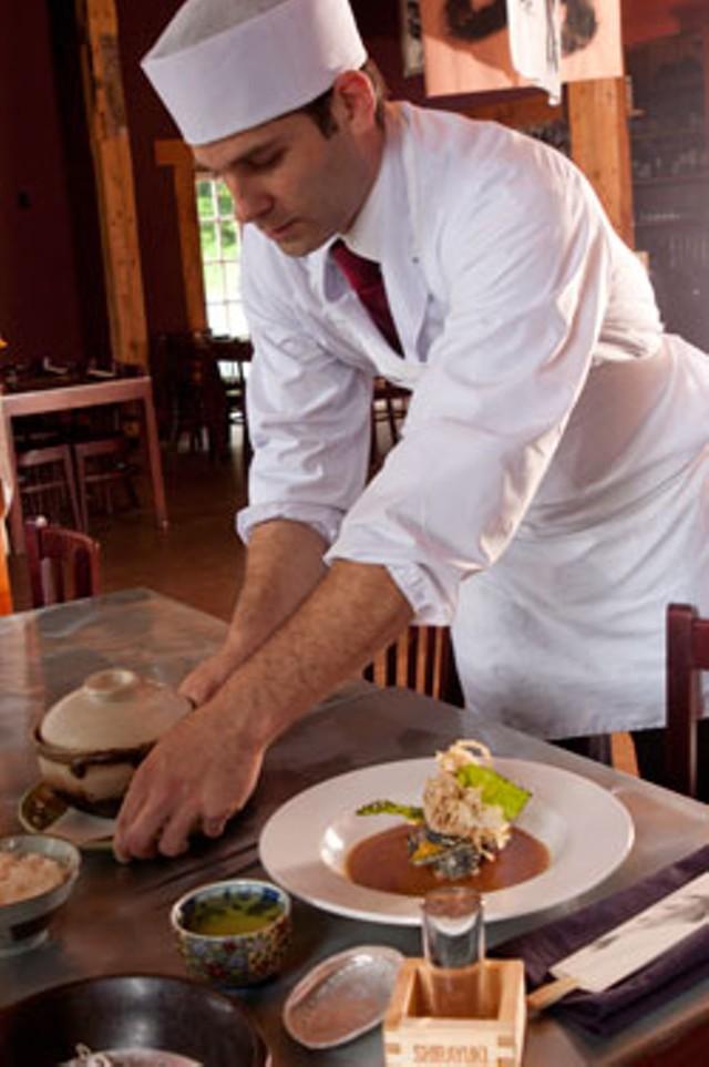 Chris Russo at San Sai Japanese Restaurant