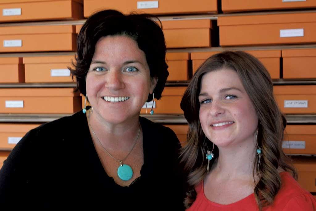 Christine Burdick and Kaitlin Mangan - COURTESY OF DON EGGERT