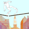 City on Wire