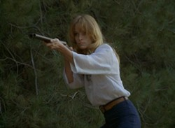 Claudia Jennings ... with a shotgun. - NEW WORLD PICTURES