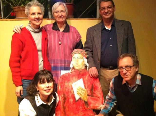 Clockwise from lower left: Susan Weiss, Michelle Demers, Mary Fillmore, Seth Steinzor, Mark Pendergrast, Dante