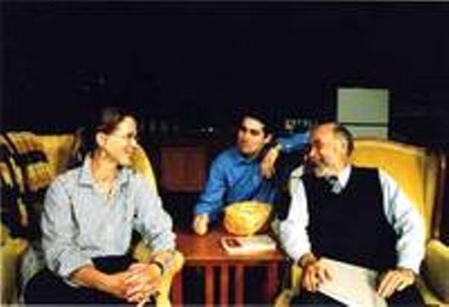 Colleen Wilford, Dan Kahn and Clarke Jordan
