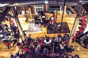 Concert in the Arts Center barn - COURTESY OF EMMY WALDEN FOX PHOTOGRAPHY