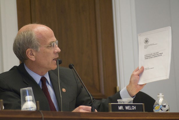 Congressman Peter Welch - CHARLES STECK