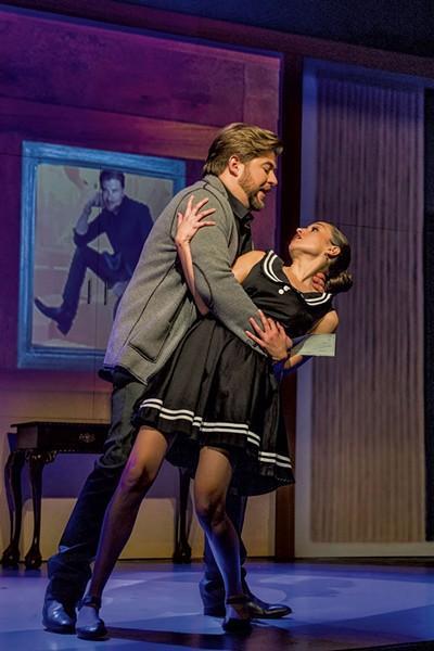 Craig Colclough (Paul Conti) and Maria Elena Altany (Susana) - COURTESY OF LA OPERA