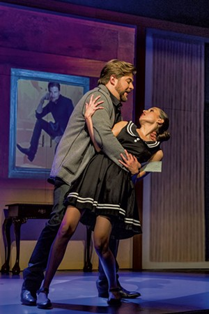Craig Colclough (Paul Conti) and Maria Elena Altany (Susana) - COURTESY OF LA OPERA