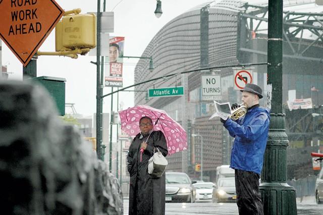 Craig Shepard performs in Brooklyn on April 22, 2012