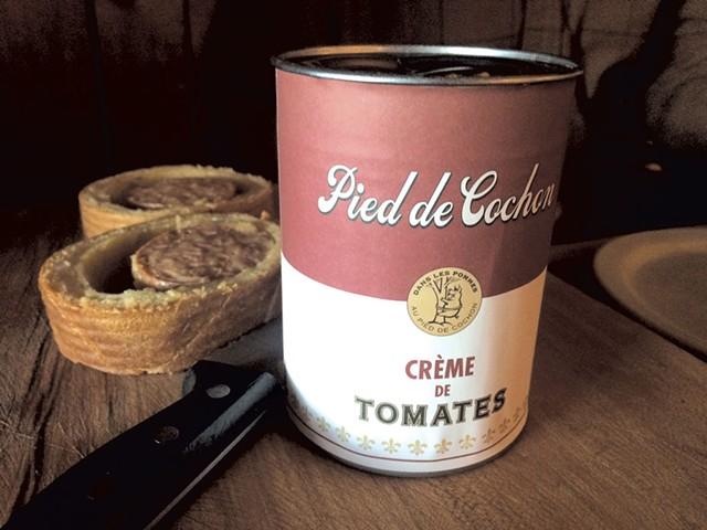 Cream of tomato soup with sausage - ALICE LEVITT
