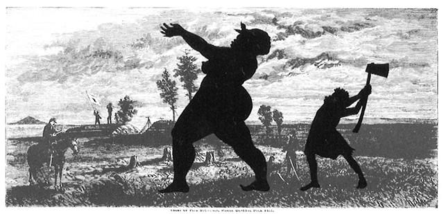 """Crest of Pine Mountain, Where General Polk Fell""by Kara Walker - COURTESY OF FLEMING MUSEUM"