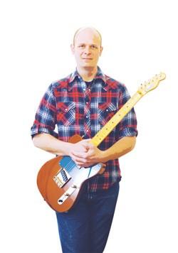 Creston Lea, guitar maker