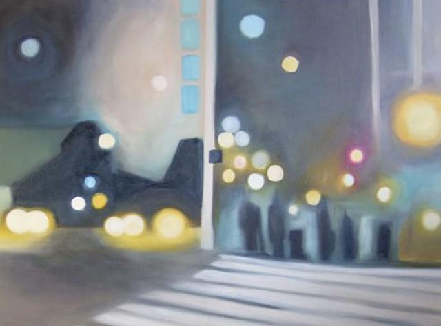 """""""Crosswalk Detail"""" by Gillian Klein"""